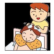 洗髪の介護